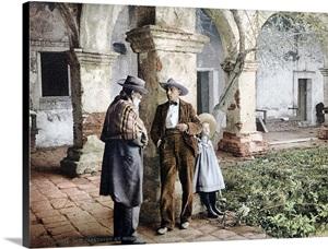 Old Caretaker At Mission San Juan Capistrano California