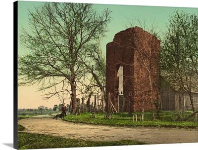Old Church At Jamestown, Virginia