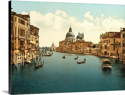 On The Grand Canal, Venice, Italy