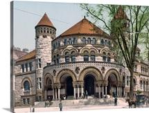 Osborn Hall Yale College Connecticut Vinyage Photograph
