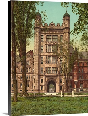 Phelps Hall And Gateway, Yale College
