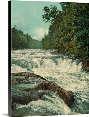 Raquette Falls, Adirondack Mountains