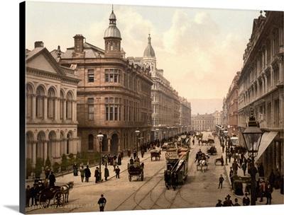 Royal Avenue, Belfast, Country Antrim, Ireland