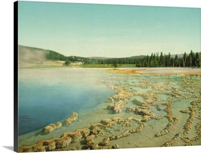 Sapphire Pool, Yellowstone National Park