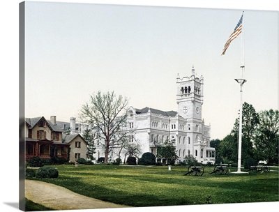 Soldiers Home Washington District of Columbia Vintage Photograph