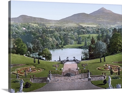 Sugarloaf Mountain from Powerscourt Co. Wicklow