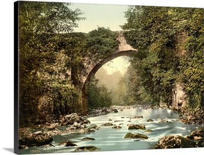 The Dargle Bridge, Country Wicklow, Ireland