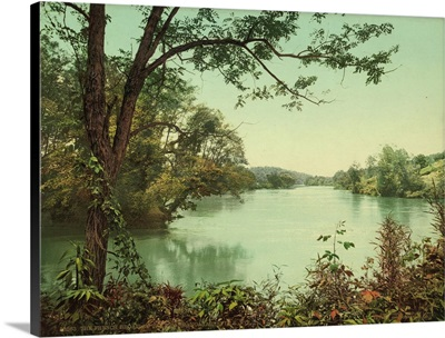 The French Broad At The Swannanoa, Asheville, N.C.