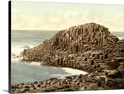 The Honeycombs, Giant's Causeway, Country Antrim, Ireland