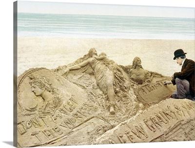 The Sandman Atlantic City New Jersey Vintage Photograph