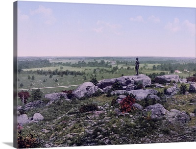 Valley of Death and the Wheat Field Gettysburg Pa