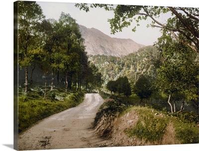 Where Twines the Path. Loch Katrine