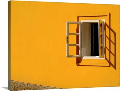 Yellow Wall Open Window