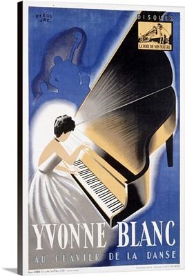 Yvonne Blanc, Vintage Poster