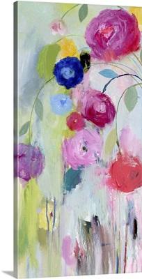Artist's Bouquet Panel I