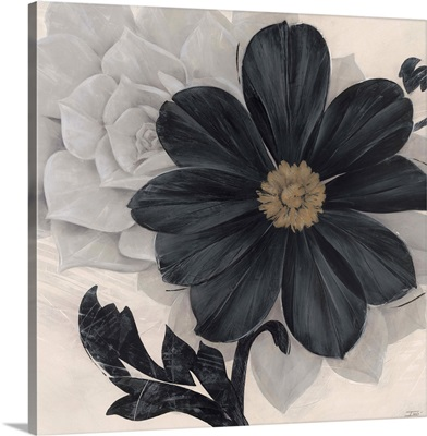 Blossom and Succulent Black