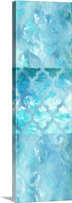 Blue Silk Ikat 2