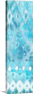 Blue Silk Ikat 3