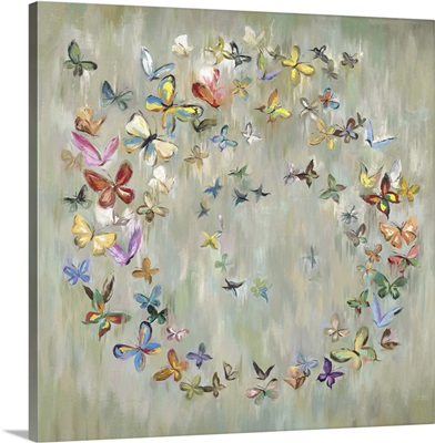 Butterfly Circle I