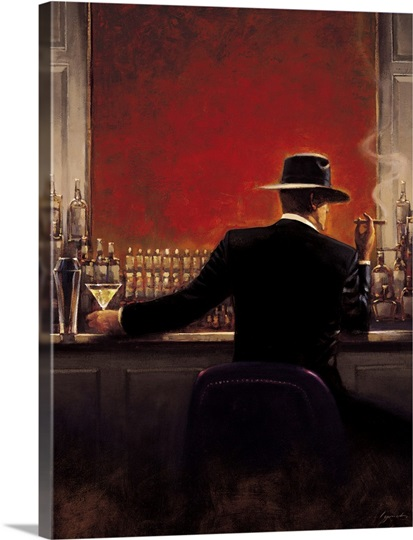 Cigar Bar Wall Art Canvas Prints Framed Prints Wall