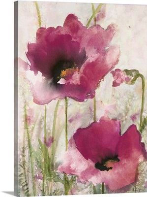 Field Poppies Pink