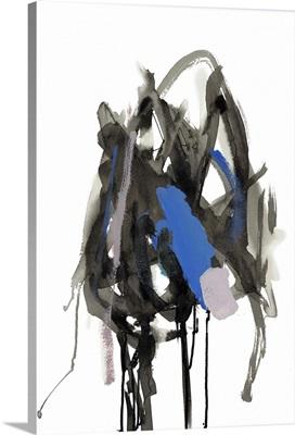 Gestural Brush, Blue