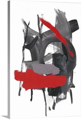 Gestural Brush, Red