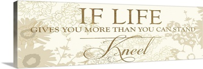 If Lives Gives You More