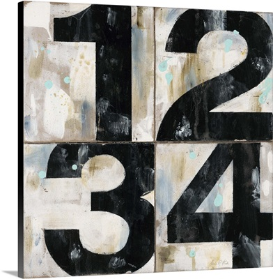 Industrial Chic Numbers
