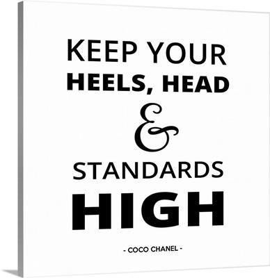 Keep Your Heels High I
