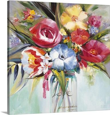 Lush Painterly Blossoms