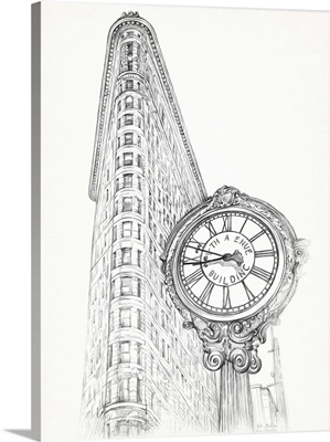 New York Sketch Pen and Ink