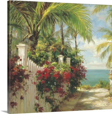 Pathway to the Beach with Garden
