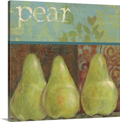 Pear Stamp