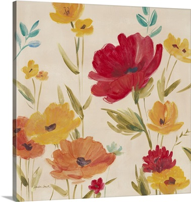 Playful Poppies I