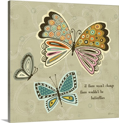 Ragtag Butterfly I