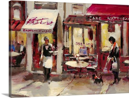 sidewalk Bistro Wall Art, Canvas Prints, Framed Prints, Wall Peels ...