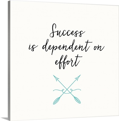 Success and Effort
