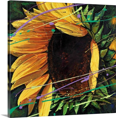 Sunflower in Motion