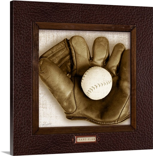 Vintage Baseball Wall Art Canvas Prints Framed Prints