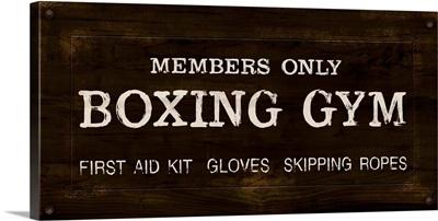 Vintage Boxing Gym