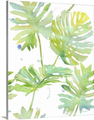 Watercolor Tropical Pattern I
