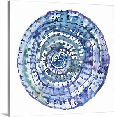 Watery Blue Mandala I