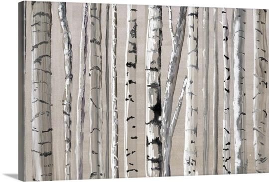 West Coast Birch Wall Art, Canvas Prints, Framed Prints, Wall Peels ...