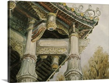 An Angle of Wu Feng Temple