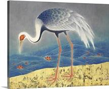 Crane on the Shore