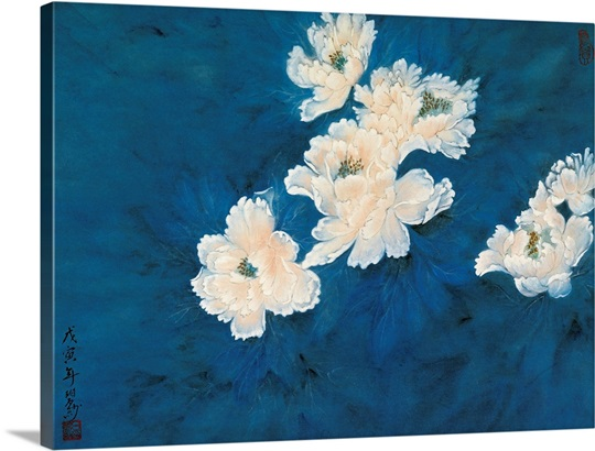 Flowers in a Blue Dream