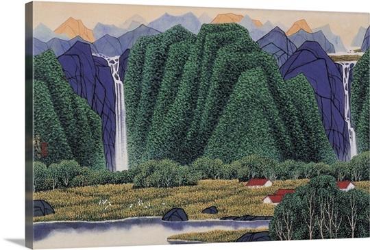 Twin Waterfalls