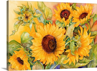 A Cutting of Sunflowers