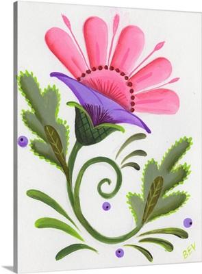 Abstract Flowers III